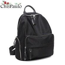 CHISPAULO NEW Women Laptop Backpack Large Capacity Rucksack SchooL Bag Travel Waterproof Backpack Men Notebook Computer Bag N052