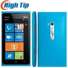 Nokia Lumia 900 разблокированный мобильный телефон 3g GSM wifi gps 8MP 16GB памяти Windows os Восстановленный 1 год гарантии