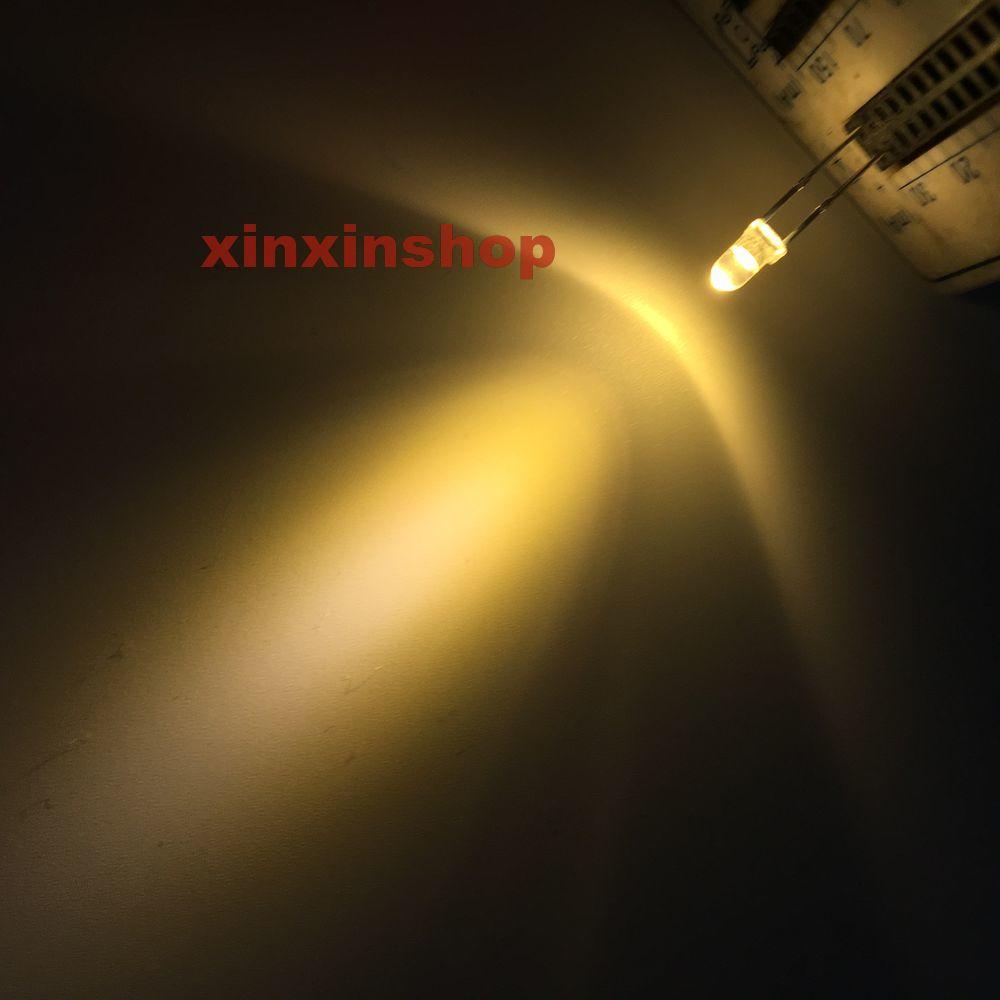 1000 x 3mm round White LED superbright bulb lamp light