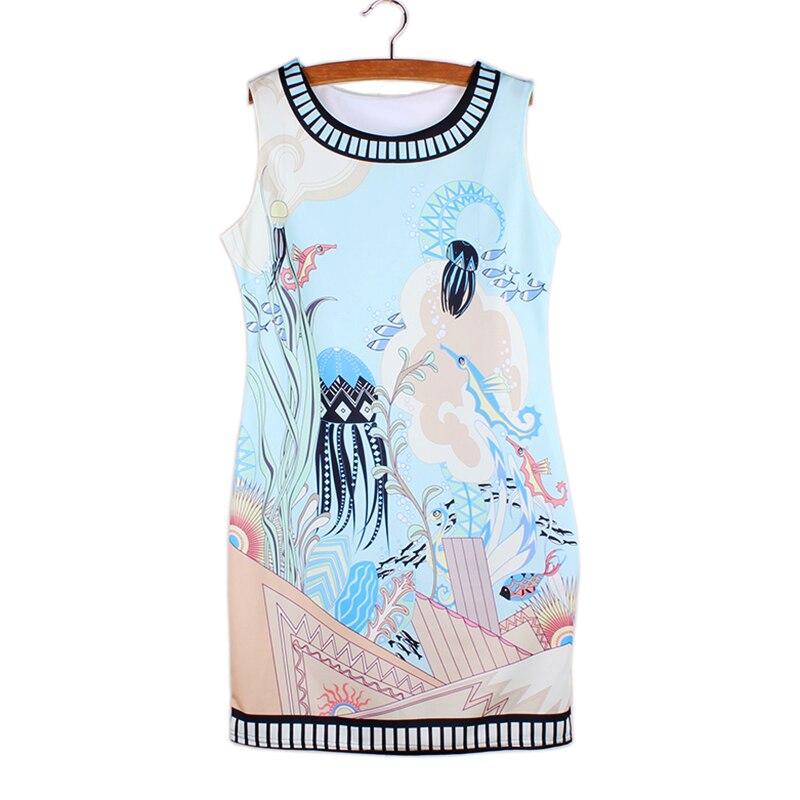 wholesale printed mini dresses 2016 fashion summer