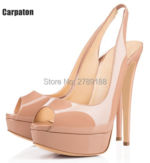 Women's Peep Toe High Heels Print Summer Platform Shoes Woman Party Pumps Buckle Strap Black Ladies stiletto heels Wedding Shoes woman shoes summer pumps elegant gray stiletto heels concise ankle buckles design open toe charming female platform party shoes