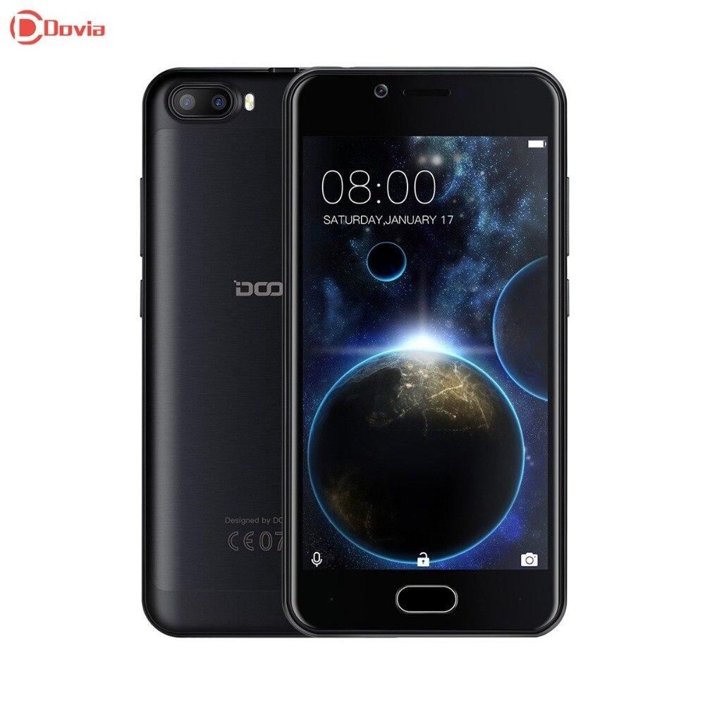 Doogee disparar 2 3g smartphone 5.0 pulgadas android 7.0 mtk6580 quad Core 1 GB