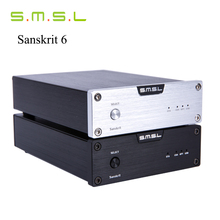 SMSL Latest 6th Sanskrit USB DAC 32BIT/192Khz Coaxial SPDIF Optical Hifi Audio Amplifier Decoder New Version With Power Adapter(China (Mainland))