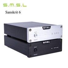 SMSL Última 6ta Sánscrito USB DAC 32BIT/192 Khz Coaxial Óptico SPDIF Hifi Audio Amplificador Decodificador Nueva Versión Con Adaptador de corriente