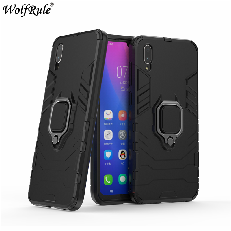 Wolfrule Car Phone Holder Magnetic Case Vivo Y97 Case 6.3