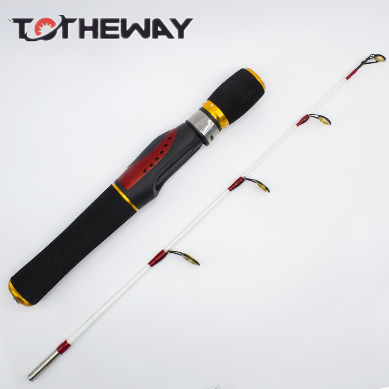 2016 short ice fishing pole spinning casting rod 2sec ice for Short fishing rods