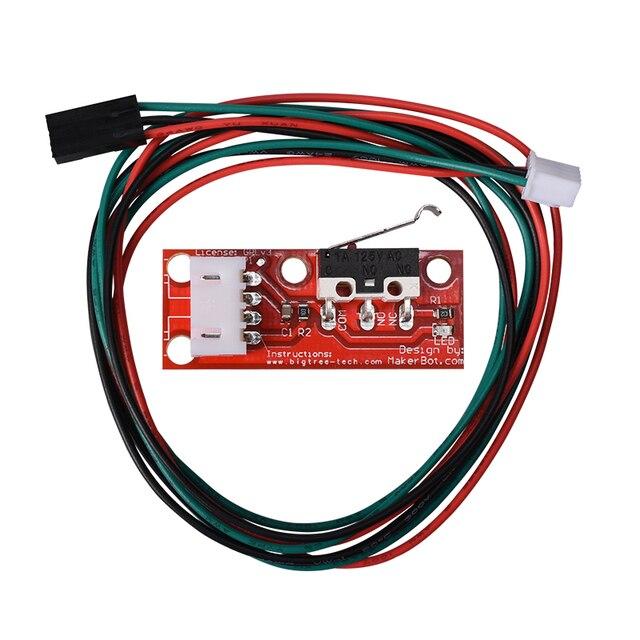1 PCS ou 5 PCS Haute Qualité Mécanique Endstop Avec Roue Sans Roue Pour Reprap rampes 1.4 3D imprimante Avec emballage indépendant