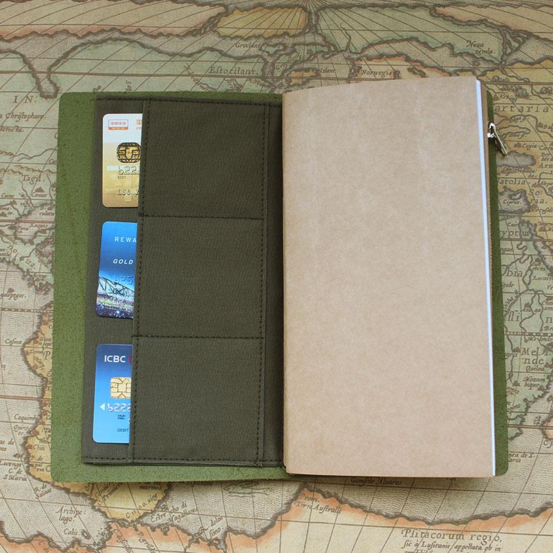 DinThenon Retro Bag de stocare pentru Midori Traveller's Notebook - Blocnotesuri și registre - Fotografie 4