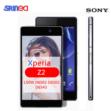 For Sony Z2 Screen For Sony Xperia Z2 L50W D6502 D6503 LCD Display Screen Touch Panel Digitizer For Sony Xperia Z2 lcd+Adhesive цена