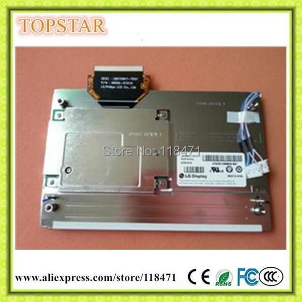 Original A+ Grade 7 inch LCD LB070WV1 TD01 LB070WV1 TD01 for Mercedes Benz W204 GLK