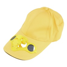 Fishing Summer Solar Power Fan Hat Cap Sport Outdoor Hat Cap with Solar Sun Power Cool Fan For Cycling New Brand
