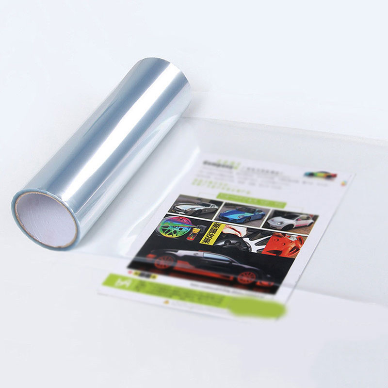 1roll Car Transparent Light Protector Film Bumper Hood Paint Protection Headlight Protective Film Vinyl Wrap 200 30cm in Car Stickers from Automobiles Motorcycles