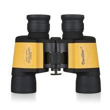 Compact 8x40 Binocular Telescope HD High Times Waterproof Lll Night Vision Wide Angle Binoculars Outdoor Camping Hunting Tools цена