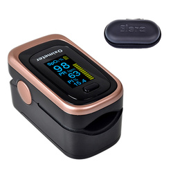 ELERA Finger Pulse Oximeter 4 Parameter SPO2 PR PI ODI4 Oximetro De Dedo 8 Hour Sleep Monitoring Pulsioximetro with Case