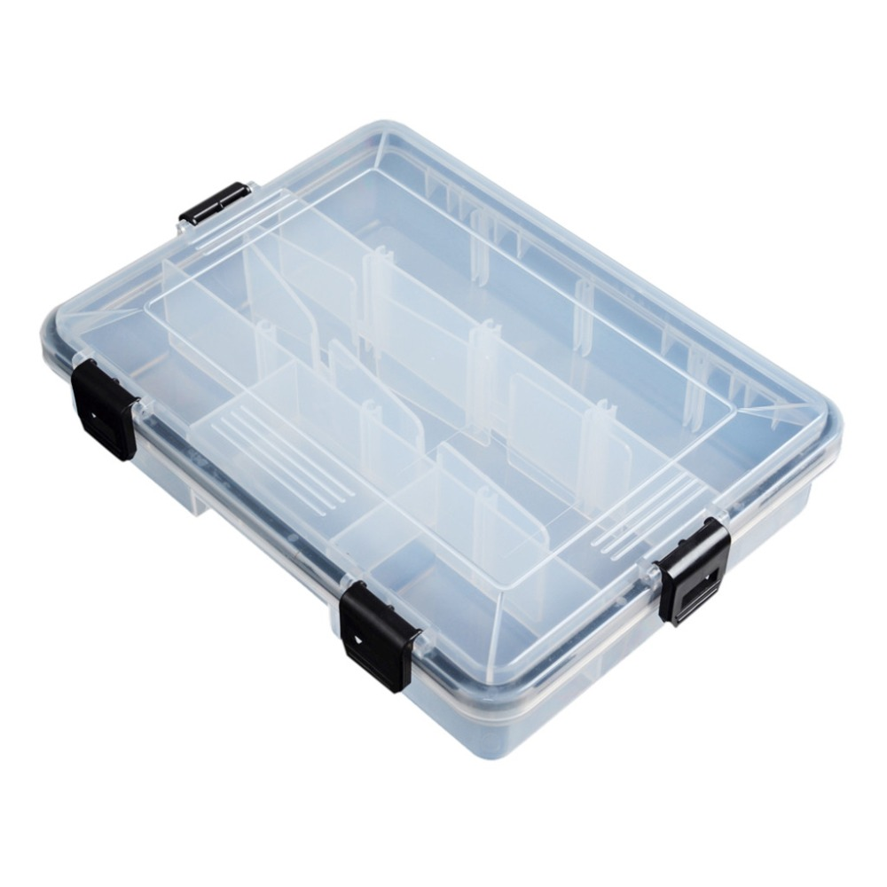 15 Compartments Fishing Fish Hook Bait Lure Box Tackle Storage Container Case od