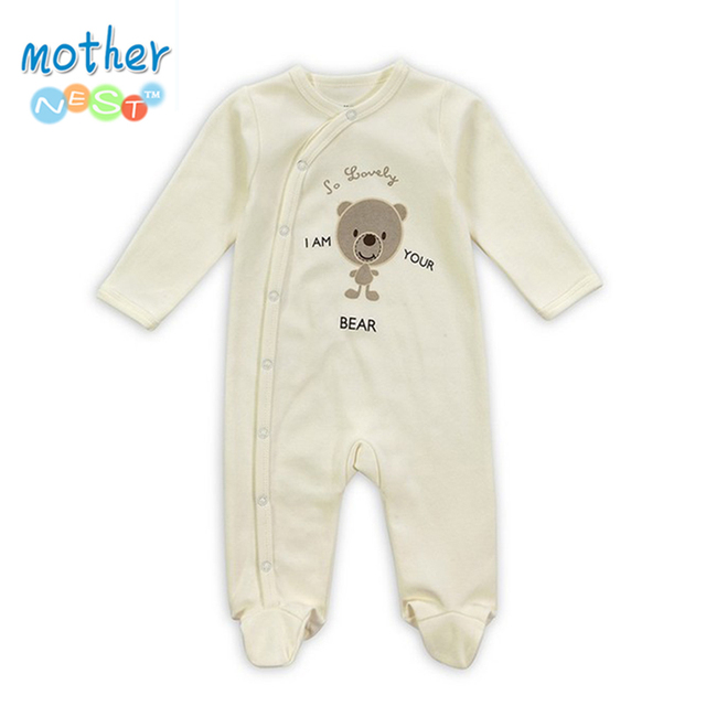 bd3287b68 Baby Boy Romper Girls Jumpsuit Kids Clothes Winter Newborn Conjoined ...