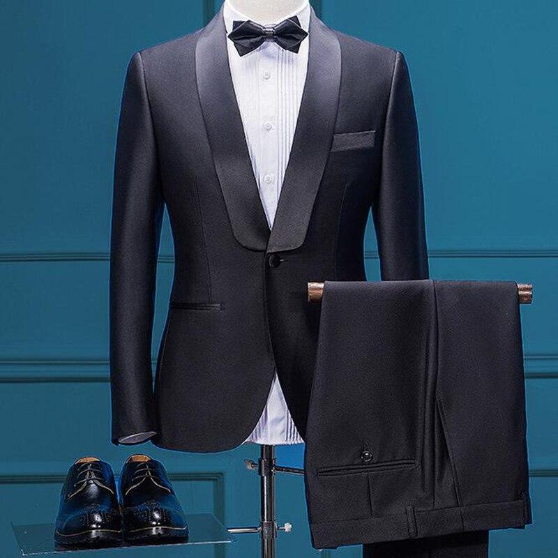 Plyesxale 2018 hombres trajes para la boda Slim Fit 3 unidades para hombre  marca de moda 89ff376c7cb