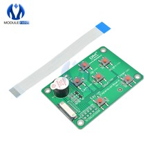 Enhanced HMI Intelligent LCD Display IO I/O Expansion Board Module Control For Nextion With Indicator Buzzer 6 Switch(China)