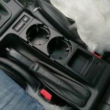 Двойное Отверстие Автомобиля Передняя центральная консоль чашки стойки/коробка для BMW E46: черный