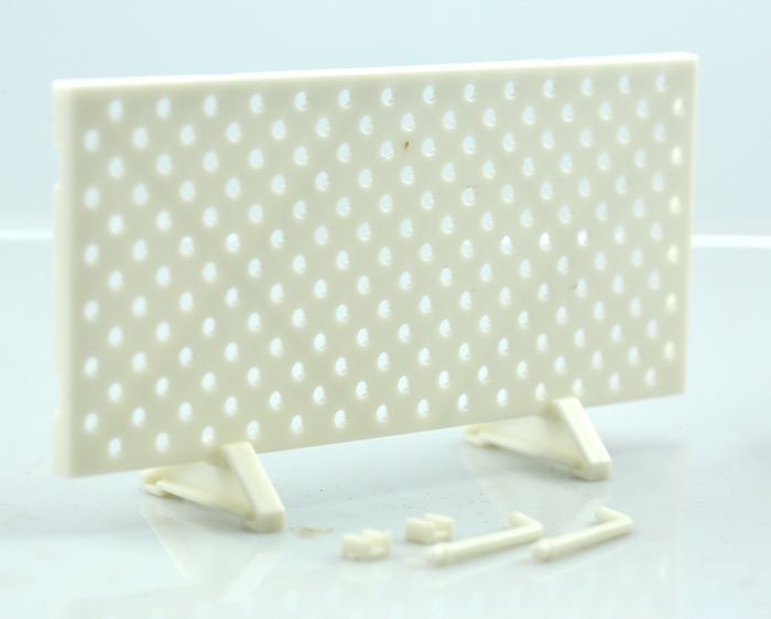 1:6 Gun Model Bracket Support Showing Stand White Plastic Military Model Accessories For Display And Collection