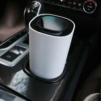 Новый цифровой Дисплей автомобиля домой Воздухоочистители жест Управление воздухоочиститель удалить формальдегид PM2.5 бактерий дым Освежи