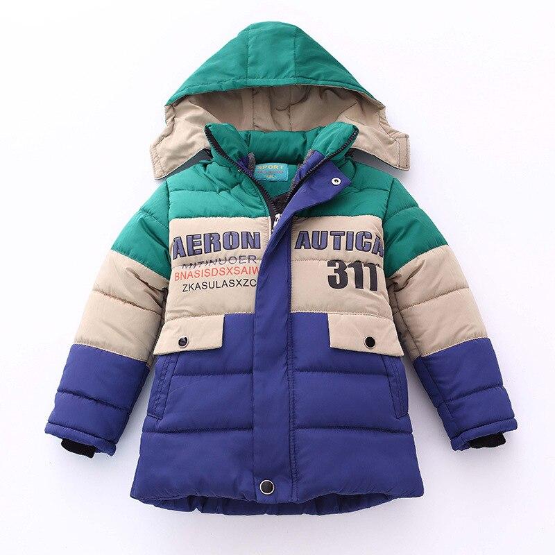 buena calidad mejores ofertas en buscar auténtico Chicos chaqueta de invierno los cabritos del bebé grueso con ...