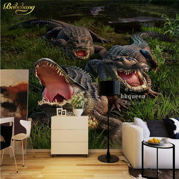 beibehang pastoral flowers wallpaper for walls 3d wall paper for wall 3 d classic embossed tv room bedroom wall paper home decor beibehang Custom Horrible crocodile Mural wallpaper for walls 3 d Living Room Bedroom TV Backdrop wall paper Photo Wall paper