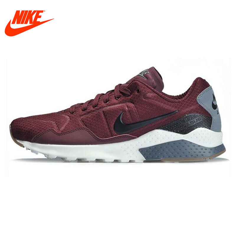 Original NIKE ZOOM PEGASUS 92 Men's Running Shoes Sneakers Black Grey Red Breathable Athletic Shoes сумка tamrac adventure zoom 5 black grey