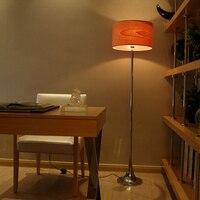 Европейский стиль зерна абажур Торшеры для сада гостиная, спальня hotel украшения освещения торшер