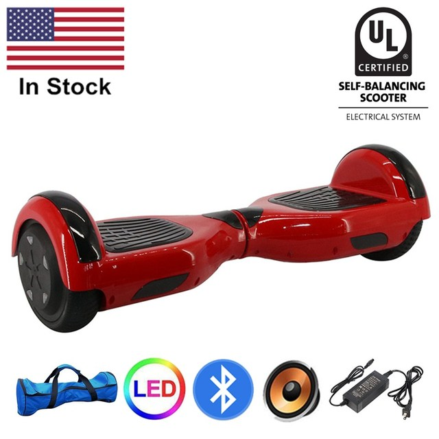 Electric Skateboard For Sale >> Usa 6 5 Inch Two Wheels Self Balance Electric Skateboard Electric