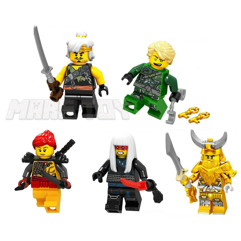 ninjago lego figures 2018 moive set dragon Lloyd (3)