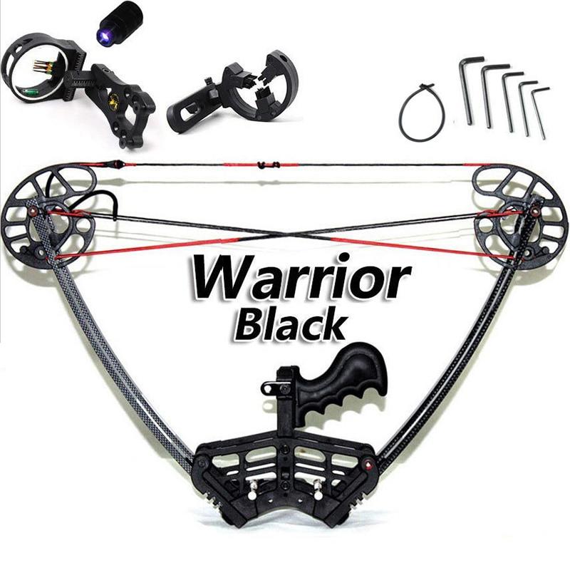 Junxing Black Warrior Compound Bow Set Set gjuetia e kamuflazhit dhe - Gjuetia