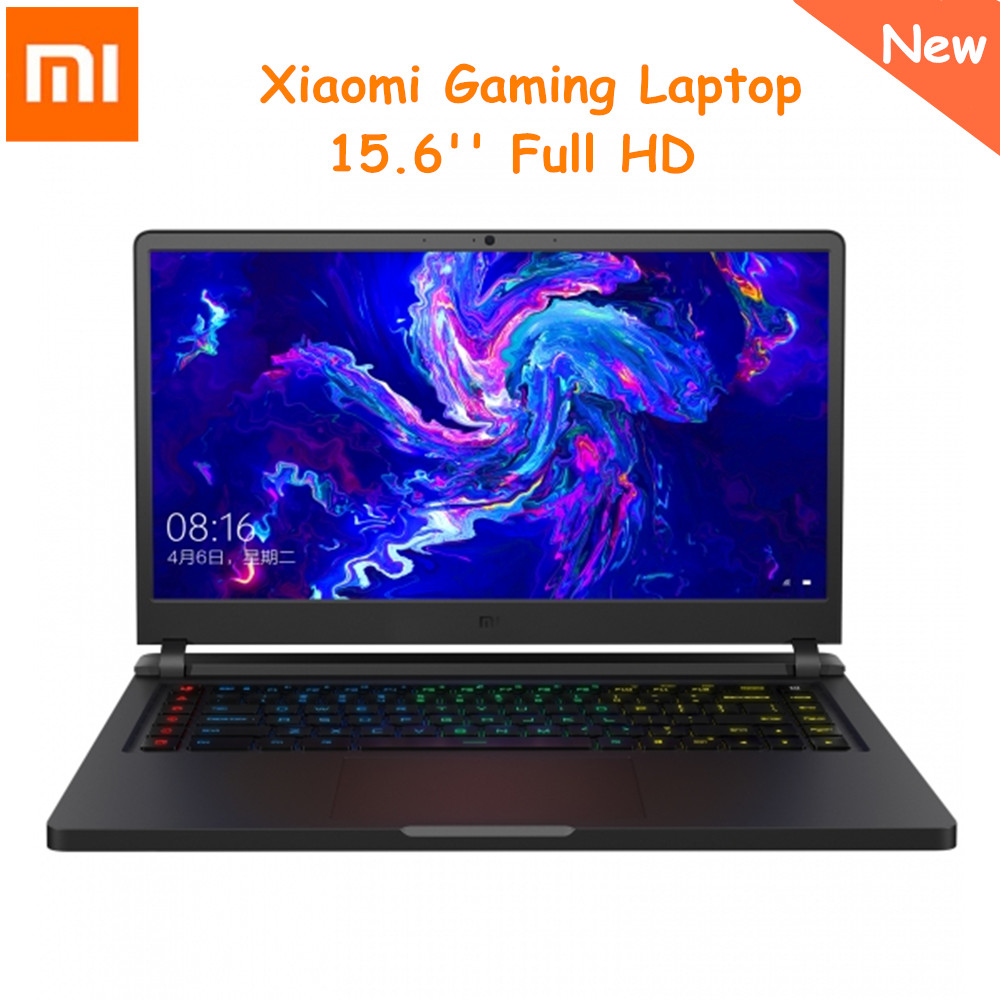 Version mise à jour d'origine Xiao mi mi Ga mi ng ordinateur portable 15.6 pouces Windows 10 Intel Core i7-8750 H 16GB RAM 512GB SSD ordinateur portable