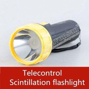 Telecontrol Scintillation horrible flashlight prop Control switch lamp lights create terror Real life escape room game prop