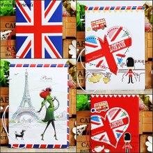 Love travel Passport Cover ID Credit Card font b Bag b font 3D Design PVC font