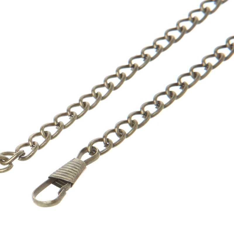 Alça de Corrente de Metal Bolsa 40 cm Punho Saco Corpo Cruz Bolsa de Ombro DIY Substituição