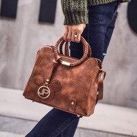Autumn And Winter New Woven Handbags Europe Trend Fashion Leisure Tote Bags Handbag Shoulder Bag Messenger