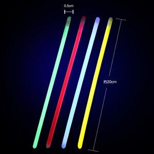 Светящаяся палка, безопасная светящаяся палка, 20 шт., ожерелье, браслеты, флуоресцентные, для праздничные, концертные, светящиеся, праздничные игрушки