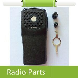 Image 2 - Bộ 5 X Radio Vỏ Bọc Bằng EP450 Trước Vỏ Lables PTT Nút Viền Và Nút Vặn