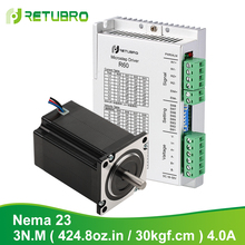 Nema 23 Stepper-Driver Cnc-Router-Kit Motor-1pc 2-Phase 57A3 24-R60 Power-Voltage-3nm