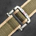 Горячая 2016 моды случайные известный бренд мужской холст пояса роскошь дизайнер спортивные джинсы Военная черный army green ремни для мужчин 120 см