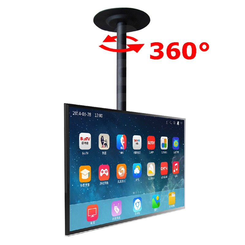 360 Degree Height Adjustable 32 Quot 60 Quot Ceiling Tv Mount