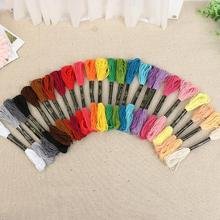 50Pcs/Set 8M Similar DMC color cross threads /High quality cross stitch embroidery thread random color