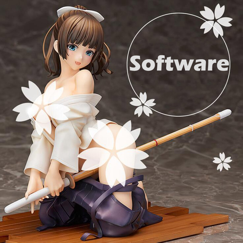 Native Kendo <font><b>girl</b></font> <font><b>Sexy</b></font> Adult figure Saionji nadeshiko hardware/software 2 style collection anime model figure Decorate T7367 image
