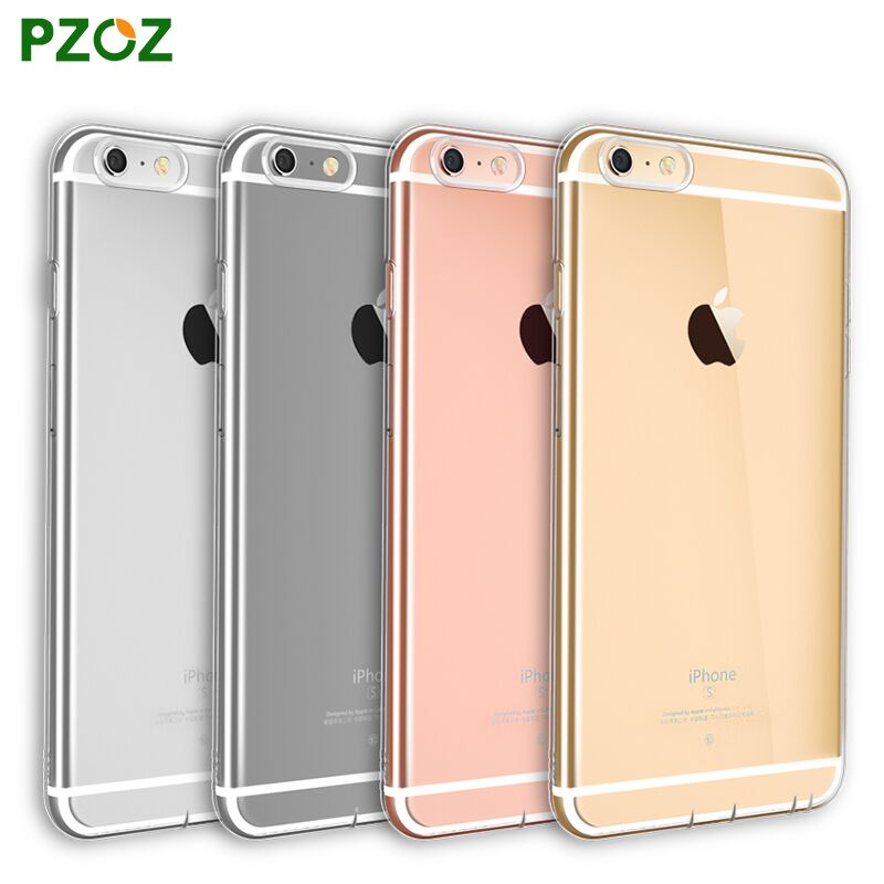 PZOZ Slim Shockproof Phone Protection Case For iphone 6 6 Plus Case Luxury Original Perfect Silicone Cover Shell For ipone 6 i6
