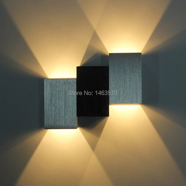 Aluminum Ladder style led wall lamp spot light Modern Home lighting ...