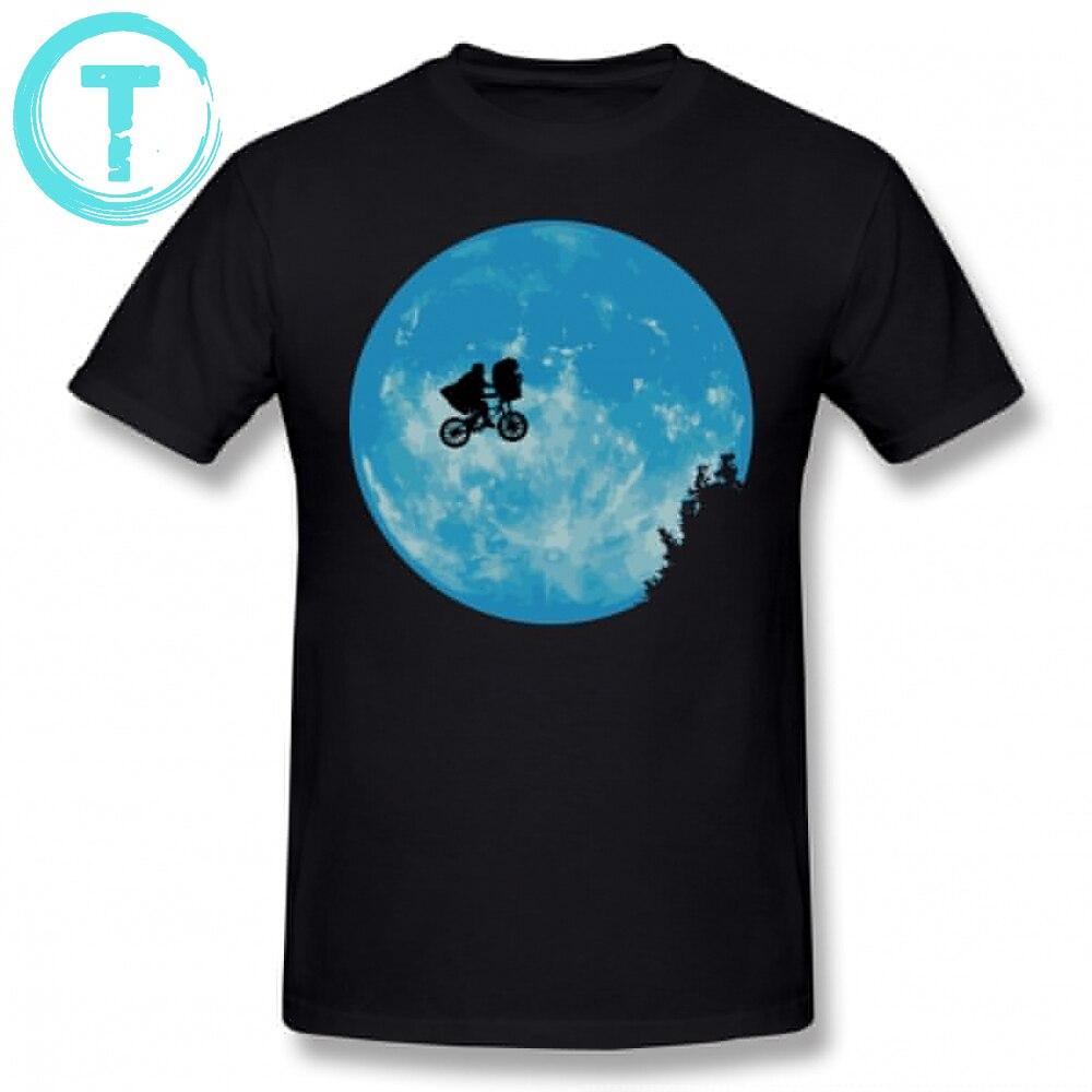 E.  T     T     Shirt   E.  T  . The Extra Terrestrial   T  -  Shirt   Fun Graphic Tee   Shirt   Men Oversize Casual 100 Cotton Short Sleeve Tshirt