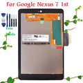 100% Warranty for ASUS Google Nexus 7 1st 2012 Gen Nexus7 LCD Display Touch Screen Digitizer Replacement Assembly