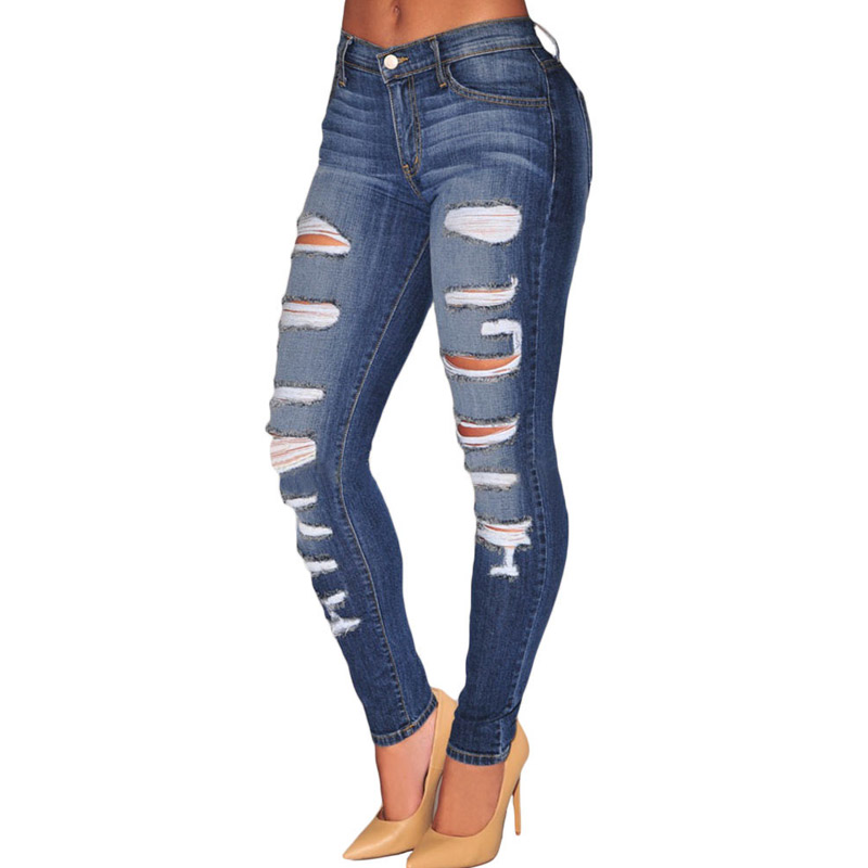 Compare Prices on Destroyed Skinny Jeans- Online Shopping/Buy Low ...