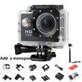 Adicionar um Monopé Câmera Esporte dv Mini Câmera de Vídeo Ao Ar Livre 720 P DV Esportes HD Ir À Prova D' Água Pro Estilo Capacete Cam Camcorder